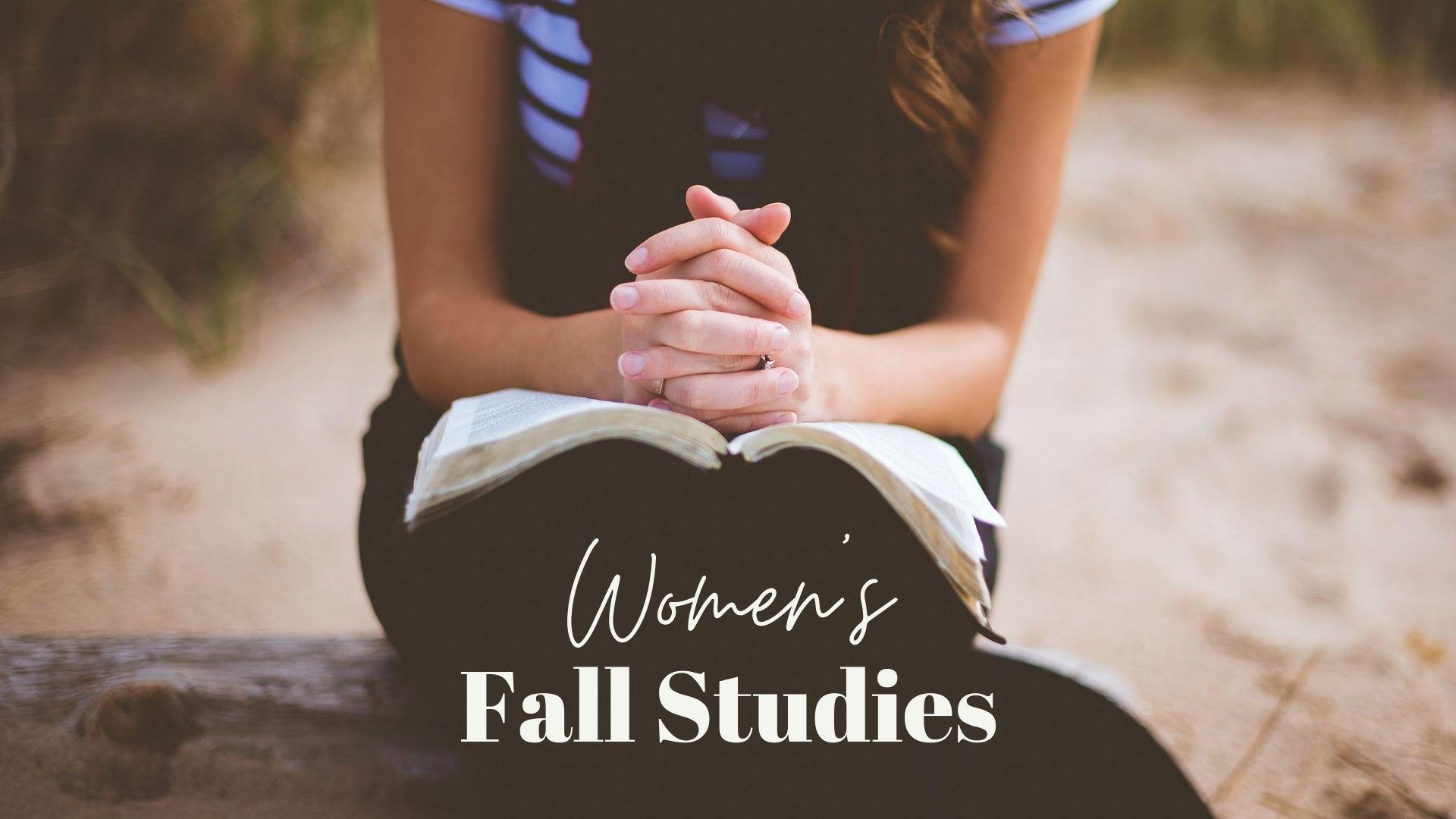 Women's Fall Bible Studies