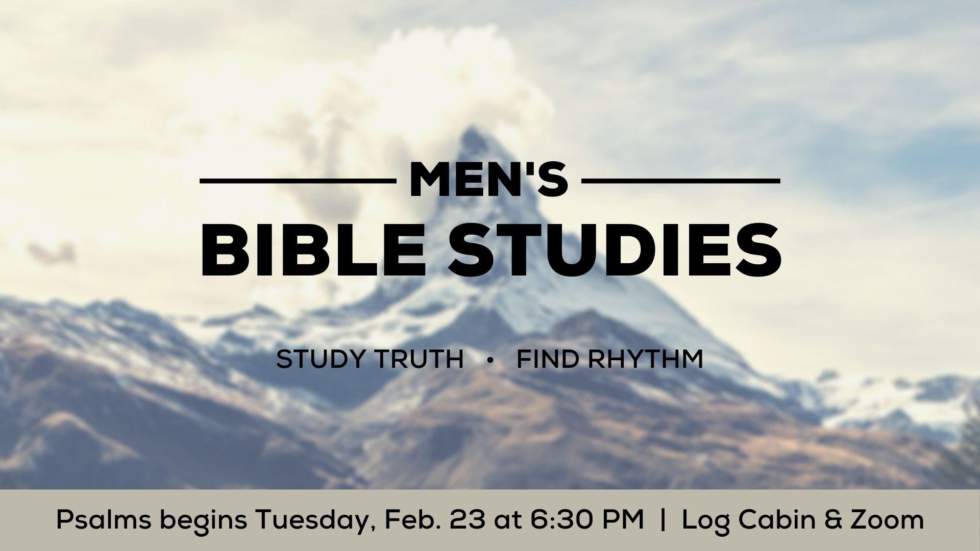 Copy of Men's Spring Bible Studies